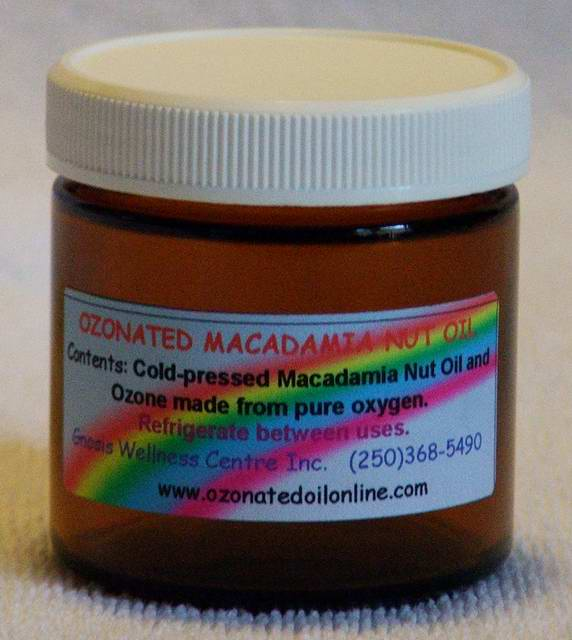 Fully Ozonated Macadamia Nut Oil 100ml